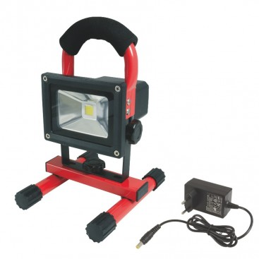 Projecteur LED rechargeable 10W - AUTOBEST