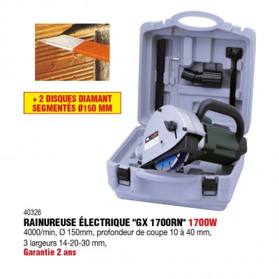 Rainureuse 1700W 230V - RONDY