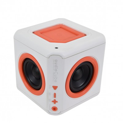 Audio cube portable