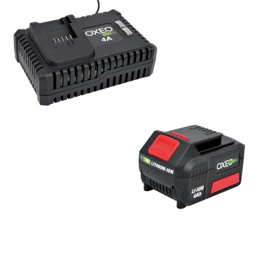 Batterie 4Ah et chargeur super rapide batterie 18V Easy Full - 4A