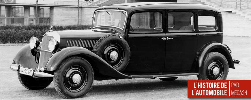 1936 mercedes 260 d la premi re voiture moteur diesel fabriqu e en s rie blog. Black Bedroom Furniture Sets. Home Design Ideas